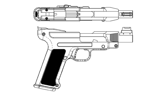 DL45 top and side diagram