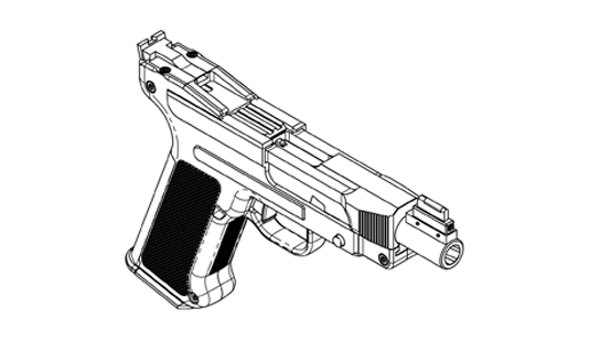DL45 front view diagram